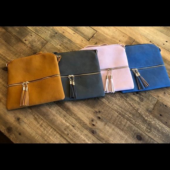aa71759883e1cc MKII Bags   One Leftsadie Tassel Crossbody Purse   Poshmark